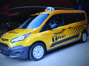 Ford Transit Connect Taxi Program 003