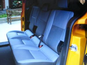 2014 Transit Connect Taxi seating